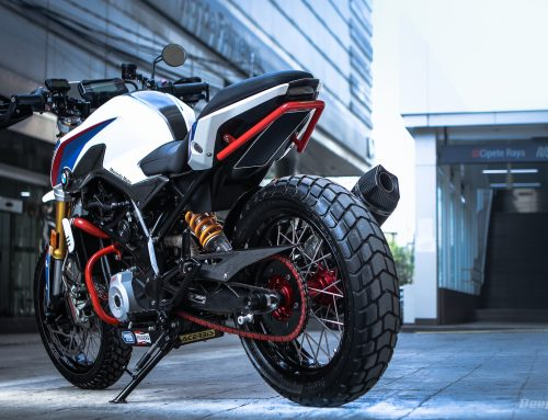 BMW GS310R 2018 MODIFIKASI ADALAH KOENTJI! – Sayonara Factory Parts