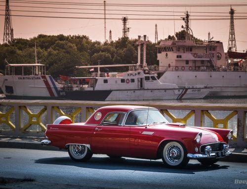 Ford Thunderbird 1956 SEMUANYA SEMPURNA BEKERJA – Huge Respect To The Owner!