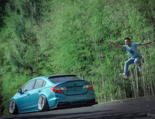 Honda Civic 2014 THE KISSER – Anteng Dibawa Lari 100 Km/Jam