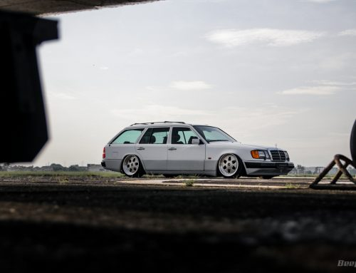 Mercedes-Benz 230 TE 1987 BAGGED WAGON – Period Correct Plus Modern Suspension