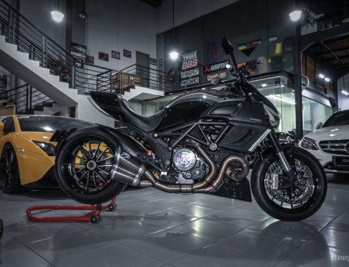 Ducati Diavel Cromo Edition 2014 MUSCULAR BIKE – Hanya Ada 12 Unit Di Indonesia