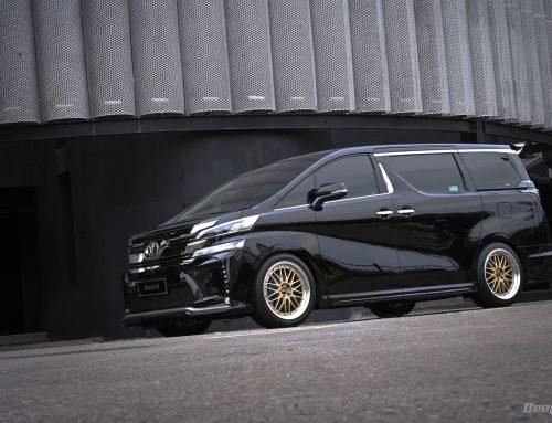 Toyota Vellfire 2017 BLACK SILK BLAZE – Versi Static Di Mobil Keluarga