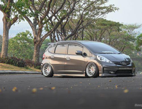 Honda Jazz 2011 GE8RAKAN LEO – Potong Lengan Dan Cium Aspal