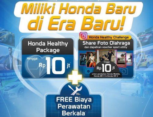 Honda Prospect Motor SEHAT BERSAMA HONDA – Tetap Sehat dengan Keuntungan Hingga Rp10 Juta