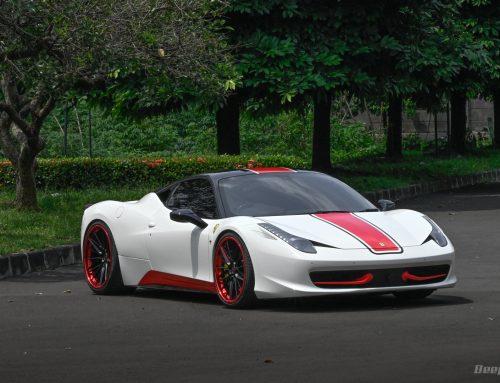 Ferrari F458 2011 EXOTIC WHITE – Saat Langsam Saja Sudah Bikin Terangsang