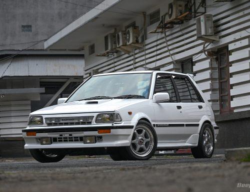 Toyota Starlet 1.3 1986 BECAUSE STARLET – Istimewa Luar Dalam Menemani Suka Duka