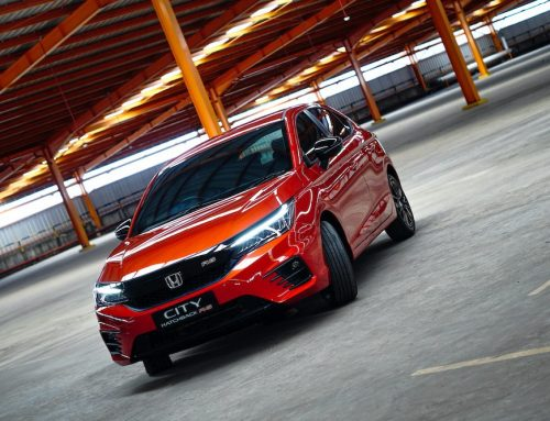 Honda Prospect Motor WELCOME HONDA CITY HATCHBACK RS – Selamat Tinggal Honda Jazz