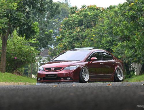 Honda Civic 2010 RED BLOOD OVER BLACK – Menjadi Lebih Santai Dan Enggak Ribet