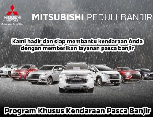Mitsubishi Motors Krama Yudha Sales Indonesia  ATASI AKIBAT BANJIR – Luncurkan Program Mitsubishi Peduli Banjir