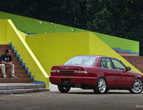 Toyota Great Corolla 1995 ORIGINAL SIZE MAKSIMAL – Pendek Manis Plus Aksesori Simpel Branded