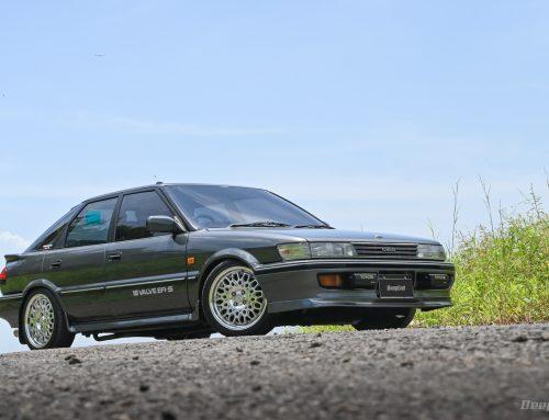 Toyota Corolla Liftback 1989 DIPIKIR SIMPEL – Ternyata Buanyakkk Printilan Yang Diaplikasi