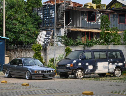 BMW 520i 1994 SASHA GREY – A Good Stance Reflects A Beautiful Mind