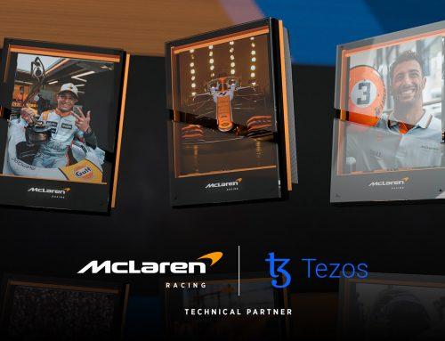 McLaren BANGUN PENGALAMAN FANS – Kerjasama Dengan Perusahaan Blockchain
