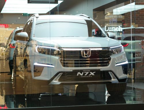 Honda N7X Concept ROADSHOW INDONESIA – Kini Hampiri Semarang